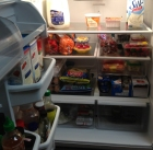 Healthy Food in Refrigerator